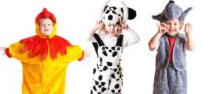 Disfraces temáticos para niños