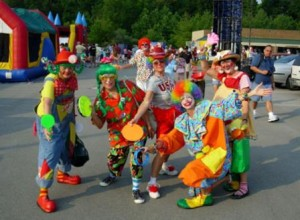 Gags de payasos para fiestas infantiles