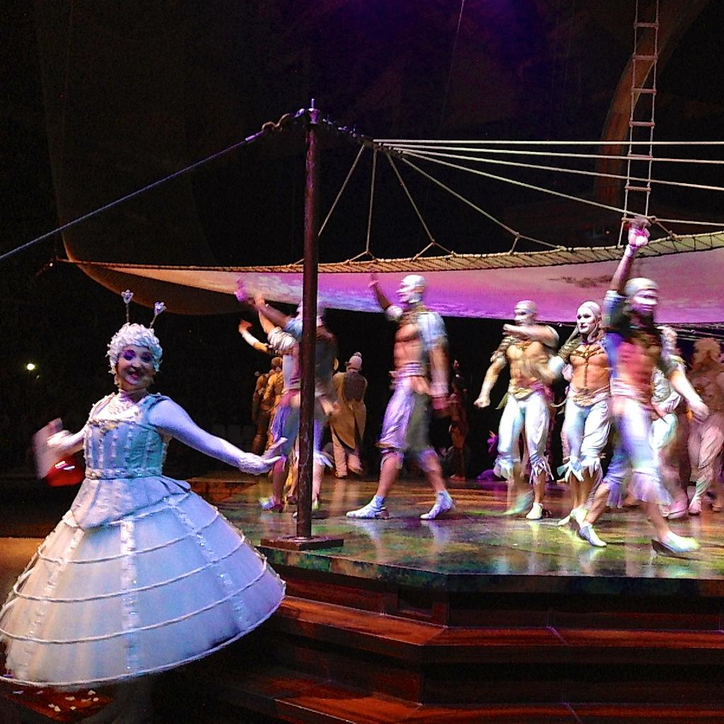 Conoce la sorpresa y la expectativa del circo-artistas
