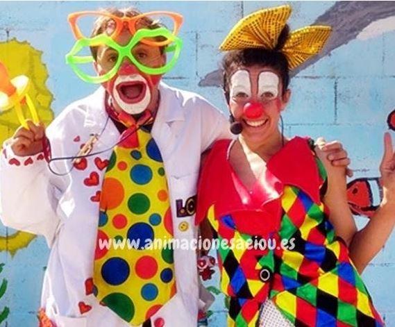 Payaso en Carnaval